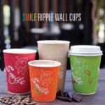 Smile Ripple Wall Cups RBG