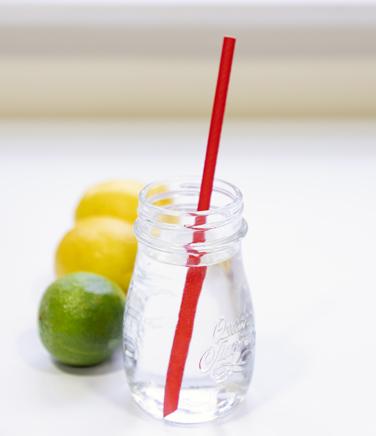 Straw in Jar 1