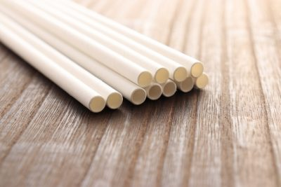 paper disposable eco-friendly straws.